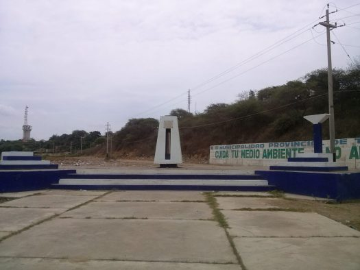 K In Motion Travel Blog. Northern Peruvian Frontier Town of Tumbes. Monument