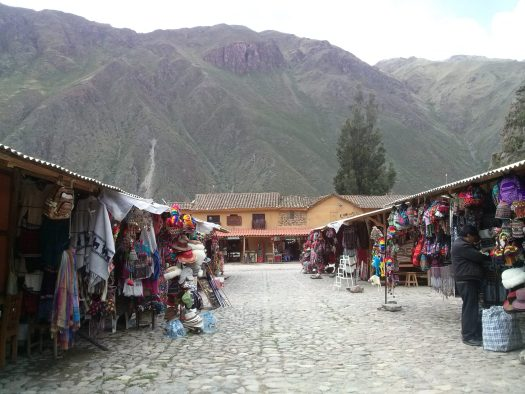 K in Motion Travel Blog. Adventures In Southern Peru. Town Centre, Ollantaytanbo, in the Andes, Peru
