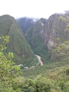 K in Motion Travel Blog. Adventures In Southern Peru. View From the Inca Trail at Machu Picchu, in the Andes, Peru