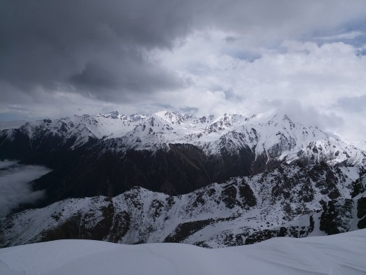 K in Motion Travel Blog. Almaty Kazakhstan. Tyan Shan Mountains Near the Border With Kyrgyzstan