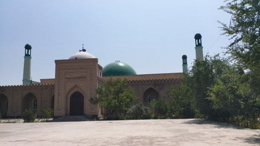 K in Motion Travel Blog. Travel to Turkmenistan - Frontier to Fire. Mosque in Kunya-Urgench