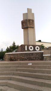 K in Motion Travel Blog. Travel to Turkmenistan - Overly Impressive Capital to Caspian Sea Port. Turkmenbashi Monument