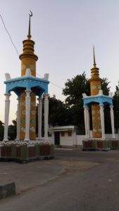 K in Motion Travel Blog. Travel to Turkmenistan - Overly Impressive Capital to Caspian Sea Port. Turkmenbashi Structures