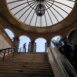 K in Motion Travel Blog. 9 Fun Things to do in Baku. Subway Ceiling