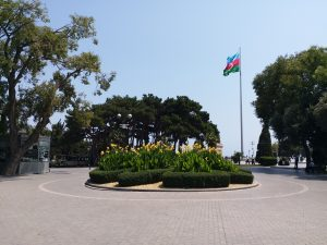 K in Motion Travel Blog. 9 Fun Things to do in Baku. Denizkenari  Milli Park/Baku Boulevard. Flag Square