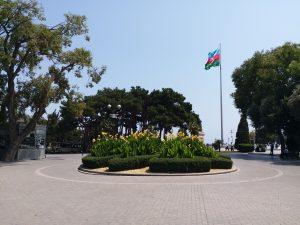 K in Motion Travel Blog. 9 Fun Things to do in Baku. Denizkenari  Milli Park/Baku Boulevard. Flag Square