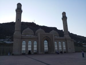 K in Motion Travel Blog. 9 Fun Things to do in Baku. Bibi-Heybat Mosque
