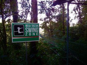 K in Motion Travel Blog. Mountain Adventures in Costa Rica. Monteverde Adventure Park Canopy Tarzan Swing
