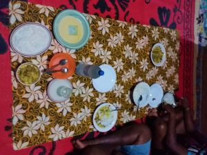 K in Motion Travel Blog. Friendliness and Festivities in Fiji. Floor Dining Table