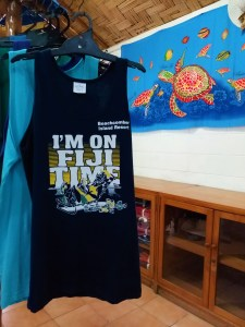 K in Motion Travel Blog. Friends and Festivities in Fiji. Fiji Time Tshirt