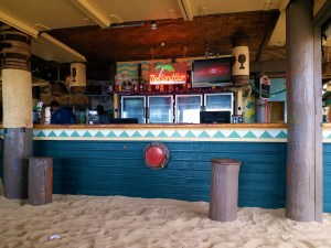 K in Motion Travel Blog. Friendliness and Festivities in Fiji. The Sand Bar at Beachcomber