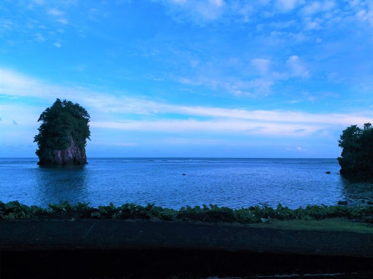 K in Motion Travel Blog. American Samoa: An Oddity in Oceania. The Flower Pot Rocks