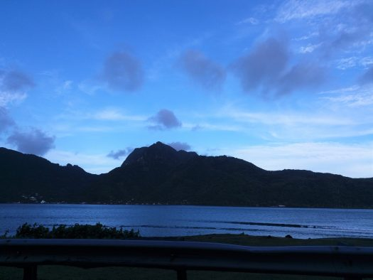 K in Motion Travel Blog. American Samoa An Oddity in Oceania. Pioa Mountain