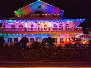 K in Motion Travel Blog. American Samoa An Oddity in Oceania. Colourful House Lights