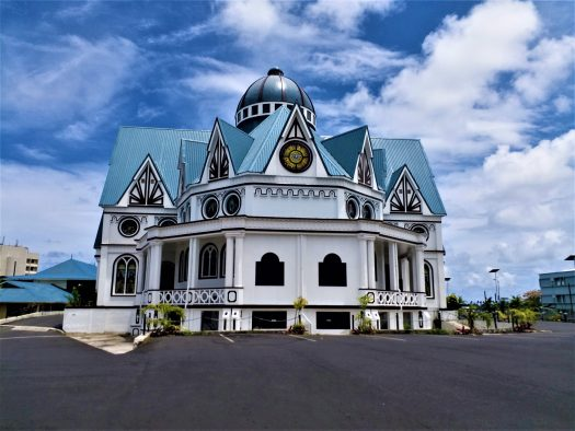 K in Motion Travel Blog. Surprising Samoa. Immaculate Conception Cathedral