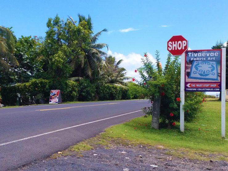 K in Motion Travel Blog. The Captivating Cook Islands. Shop Stop in Rarotonga