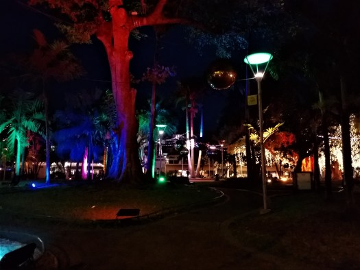 New Caledonia A Piece Of Europe in the South Pacific. Coconut Square Tree Lights