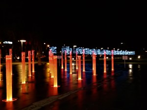 K in Motion Travel Blog. Free Things to do in Vilnius. Lights