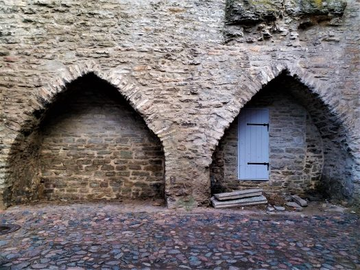 K in Motion Travel Blog. Discover Old and New Tallinn. Stone Wall in Old Town