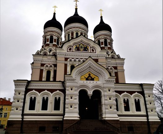 K in Motion Travel Blog. Discover Old and New Tallinn. Alexander Nevsky Russian Orthodox Cathedral