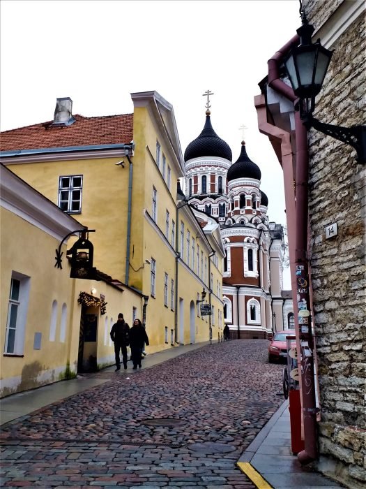 K in Motion Travel Blog. Discover Old and New Tallinn. Alexander Nevsky Russian Orthodox Cathedral From the Old Town