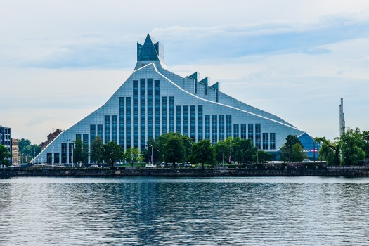 K in Motion Travel Blog. Free Things to do in Riga. Castle of Light