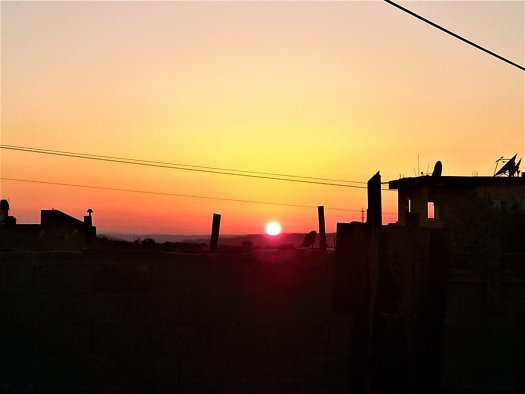 K in Motion Travel Blog. Around the World in Sunsets. The The Jesus Trail Near Nazareth, Israel