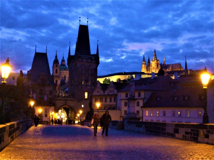 K in Motion Travel Blog. Around the World in Sunsets. Cesky Kromlov, Czech Republic