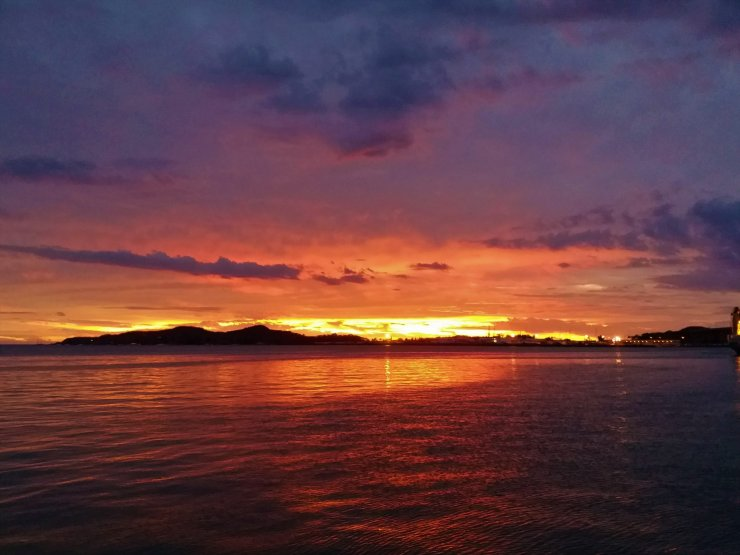 K in Motion Travel Blog. Around the World in Sunsets. Noumea, New Caledonia