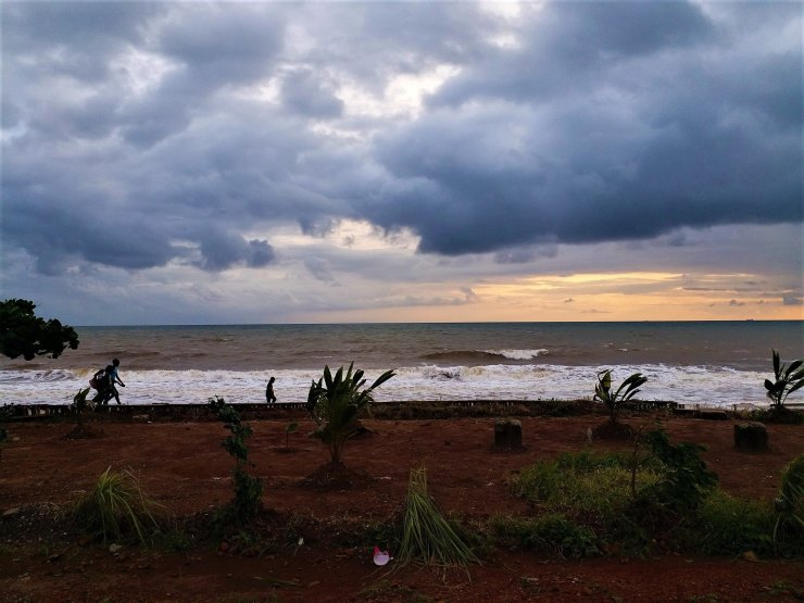 K in Motion Travel Blog. Around the World in Sunsets. Freetown, Sierra Leone