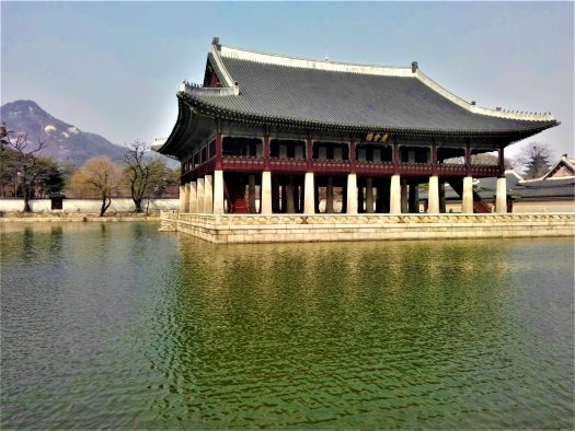 K in Motion Travel Blog. Mesmerising Lakes Around the World. Lake and Temple in Seoul