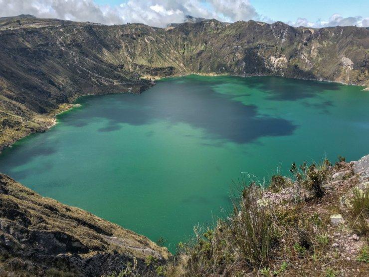 K in Motion Travel Blog. Mesmerising Lakes Around the World. Ecuador Crater Lake