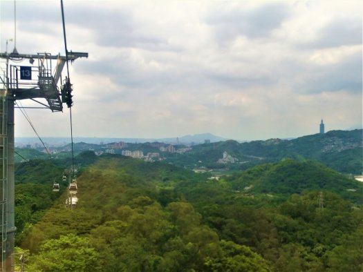 K in Motion Travel Blog. Travelling in Taiwan. Maokong Cable Car