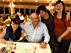 K in Motion Travel Blog. Scenic Cruise to Okinawa. Captain's Dinner