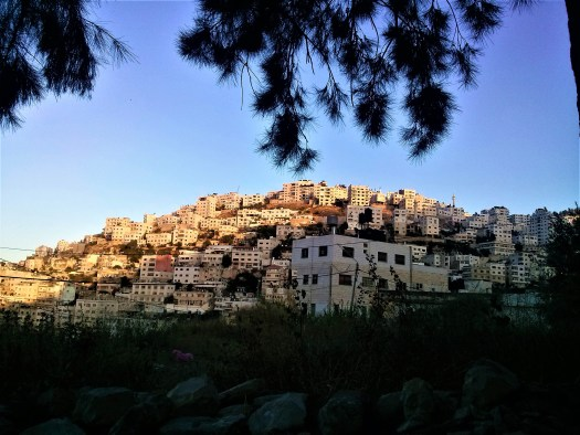 K in Motion Travel Blog. What Is It Really Like in Palestine. View of Nablus