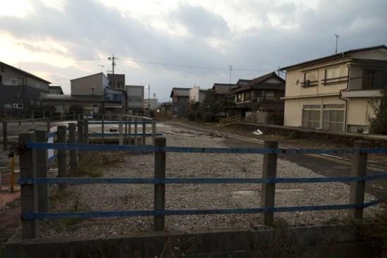ホーム 旧揖斐線 美濃北方駅