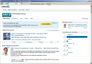 ARM Based Group Linkedin