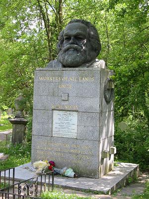 Karl Marx' grav