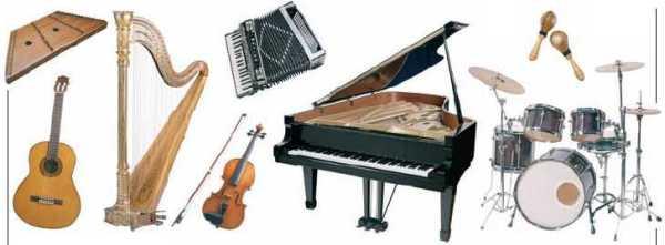 Музыкальные инструменты Струнные и духовые