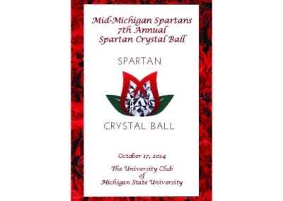 2014 Spartan Crystal Ball Program