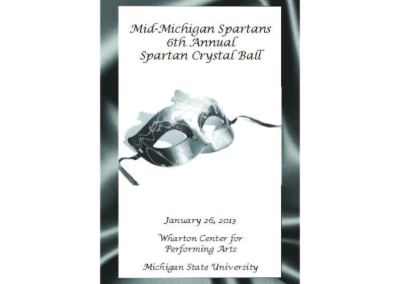 2013 Spartan Crystal Ball Collaterals