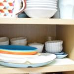 食器棚を見直す【後編】 * 小皿を引き出しに収納!