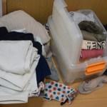 リビング横の4.5畳部屋のクローゼット周辺お片付け * 見苦しい服の山を断捨離 & 整理整頓 & 衣替え!