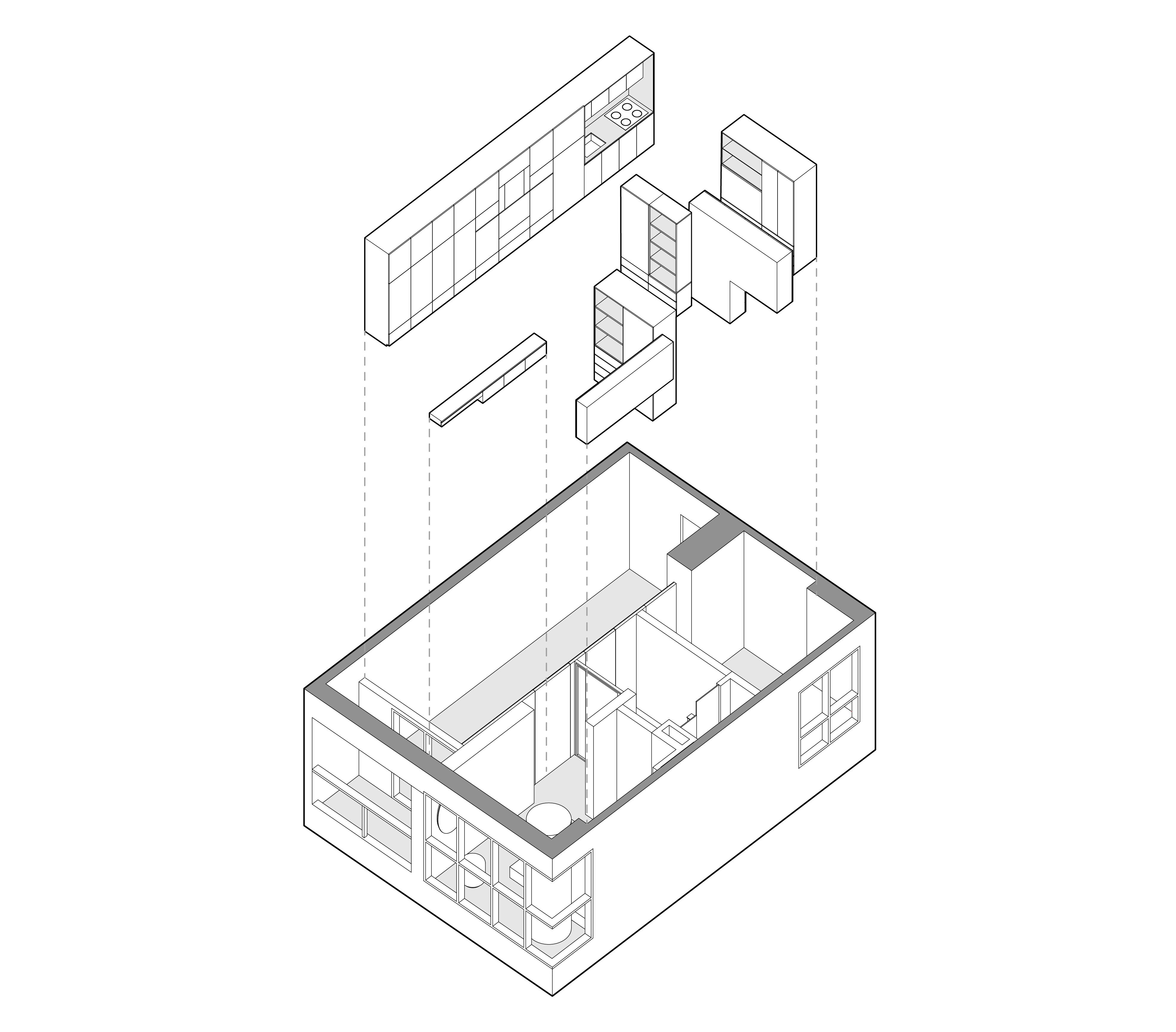 50M2 Apartement