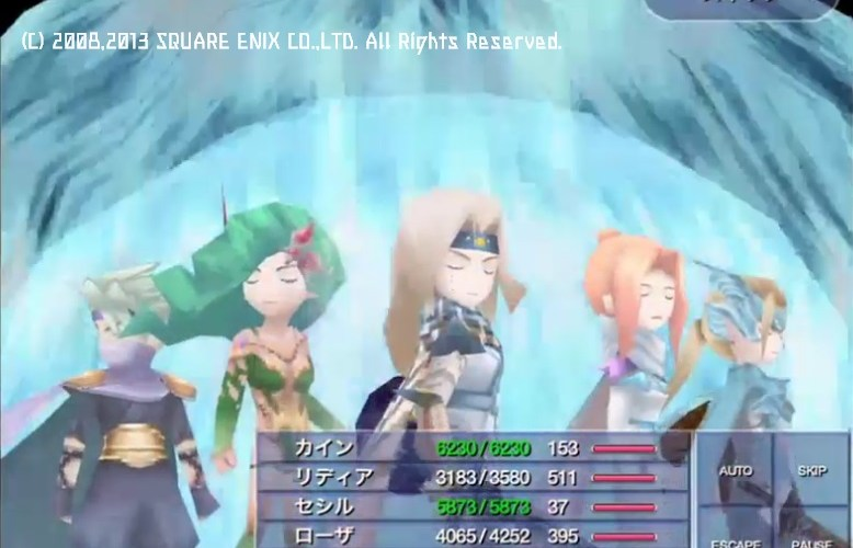 【FFⅣTA】トリガーハッピーが配信するFINAL FANTASY Ⅳ THE AFTER YEARS #20(最終回)