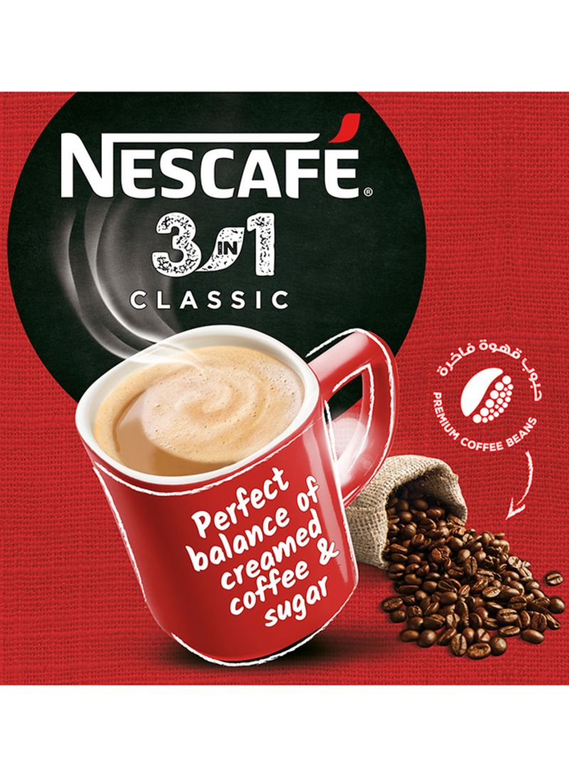 Shop Nescafe 3 In 1 Classic Foaming Coffee 20 G Online In Dubai