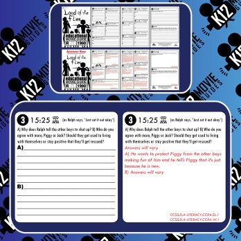 Lord of the Flies Movie Guide | Questions | Worksheet (R - 1990) Free Sample
