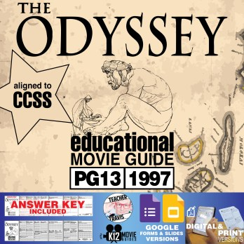 The Odyssey Movie Guide | Questions | Worksheet (PG13 - 1997) Cover