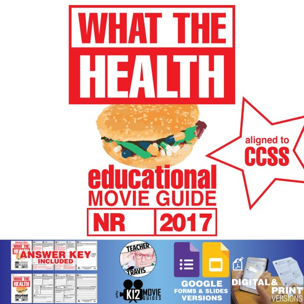 What the Health Documentary Movie Guide | Questions | Worksheet (2017) Cover