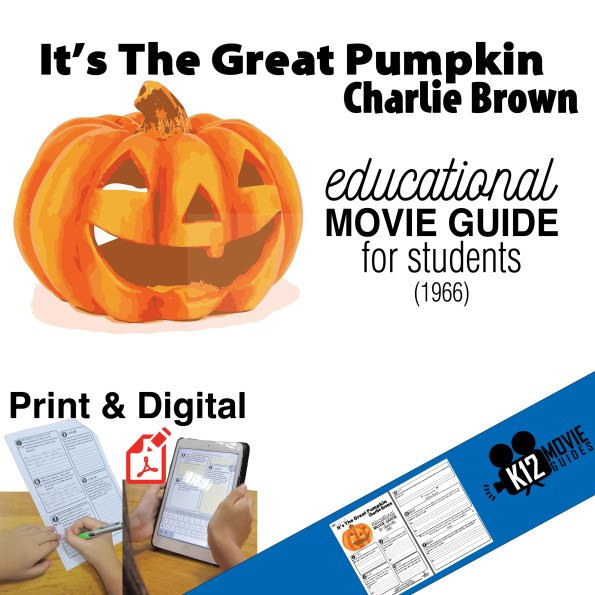 It's the Great Pumpkin, Charlie Brown Movie Guide - Cover